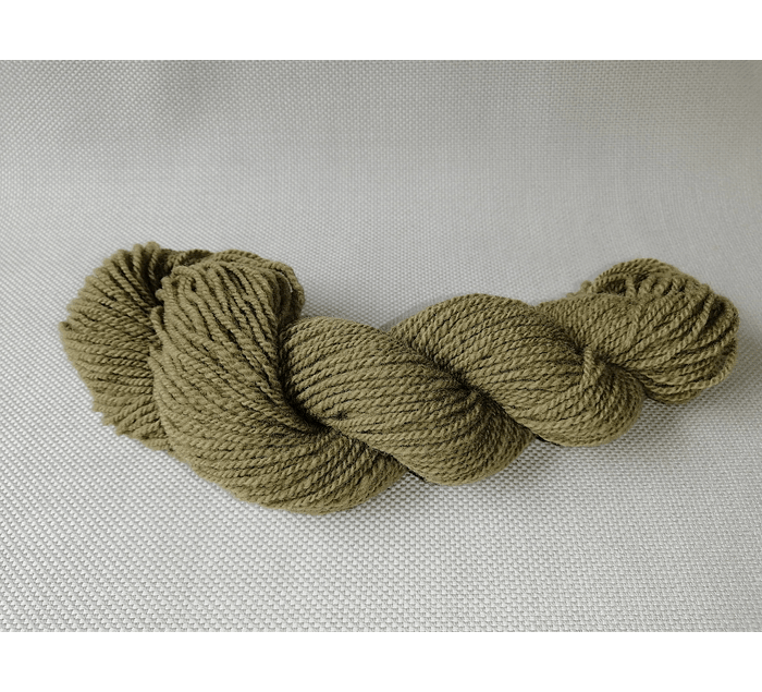 Canelo N°9  - Corriedale hand-dyed wool with natural dyes - Wildlife Friendly