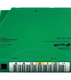 Cartucho de datos HPE LTO-8 Ultrium 30TB RW