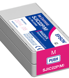 Cartucho de tinta Epson SJIC22P magenta