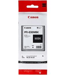 Cartucho de tinta Canon PFI-030 NEGRO MATE - 55 ML
