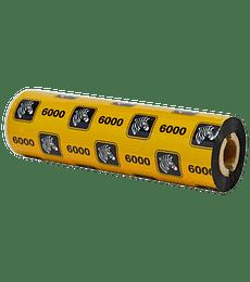 Ribbon Cera 110mmx74m 6000Wax 48/box 12mm core