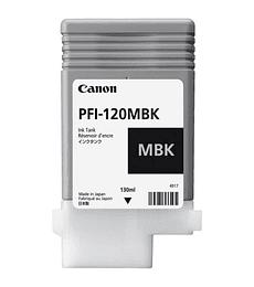Cartucho de tinta Canon PFI-120 negro mate 130 ml