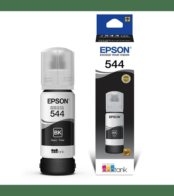 Botella de Tinta Epson T544 Negro  L3110 (65ml)