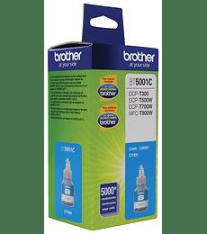 Botella de tinta Brother Cián BT5001C