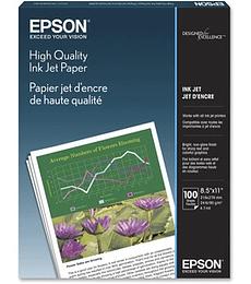 Papel inyección de tinta Epson High Quality Letter S041111