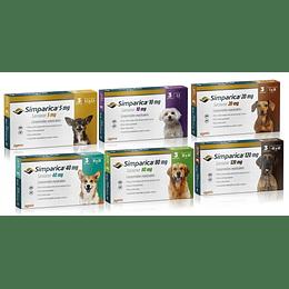 Simparica 3 Comprimido - Antiparasitario Para Perros