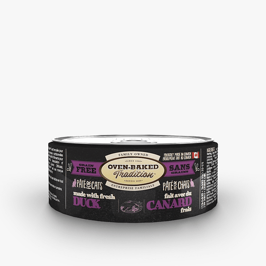 Oven-Baked Cat Pate Duck / Pato 156 G