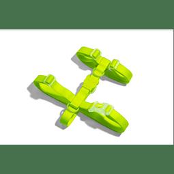 Arnés Neopro Zeedog modelo Lime Green