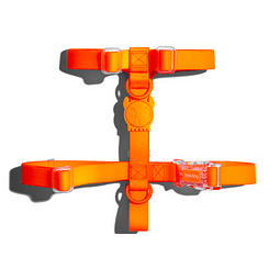 Arnés Neopro Zeedog modelo Tangerine