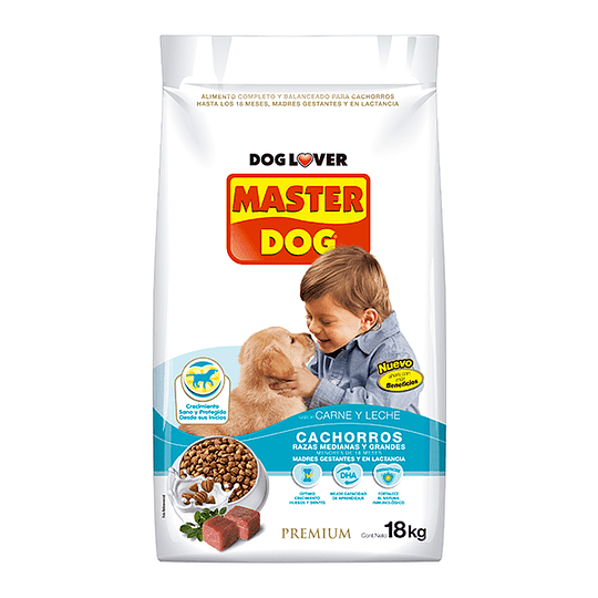 Master Dog Cachorro 18Kg