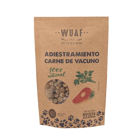 Wuaf Adiestramiento Carne de Vacuno 60g