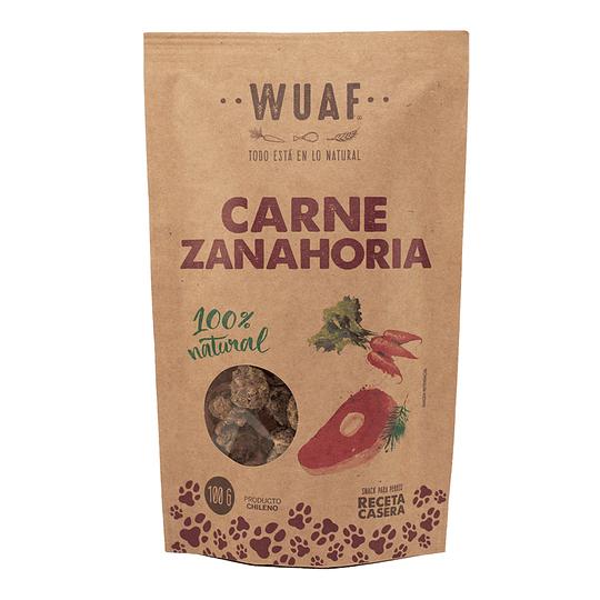 Wuaf Snack Carne Zanahoria 100g