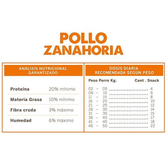 Wuaf Snack Pollo Zanahoria 100g