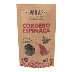 Wuaf Snack Cordero Espinaca 100g