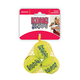 Kong SqueakAir Balls Talla M - 3 unidades
