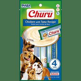 Churu Perro Pollo Atun 4 tubos 56g