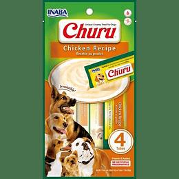 Churu Perro Pollo 4 tubos 56g