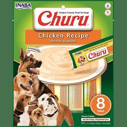 Churu Perro Pollo 8 tubos 160g