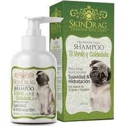 Shampoo SkinDrag Te Verde y Caléndula 250 ml