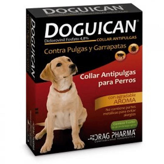 Doguican Collar antiparasitario externo contra pulgas y garrapatas en perros