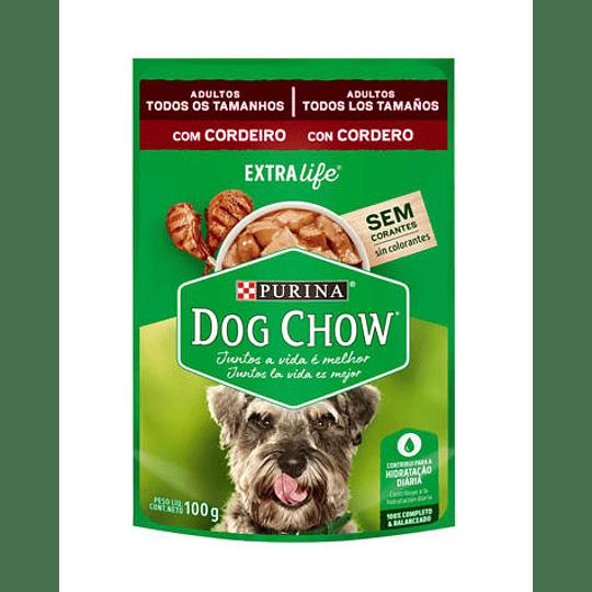 Alimento Humedo Dog Chow Adulto Cordero