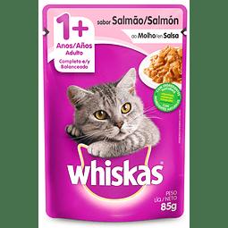Alimento Humedo Gato Whiskas SalmonAdulto