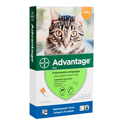 Advantage Antipulgas 0 a 4 kilos