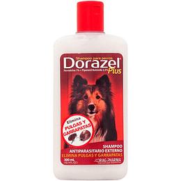 Shampoo Anti Pulgas/Garrapatas Dorazel Plus Drag Pharma 300ml
