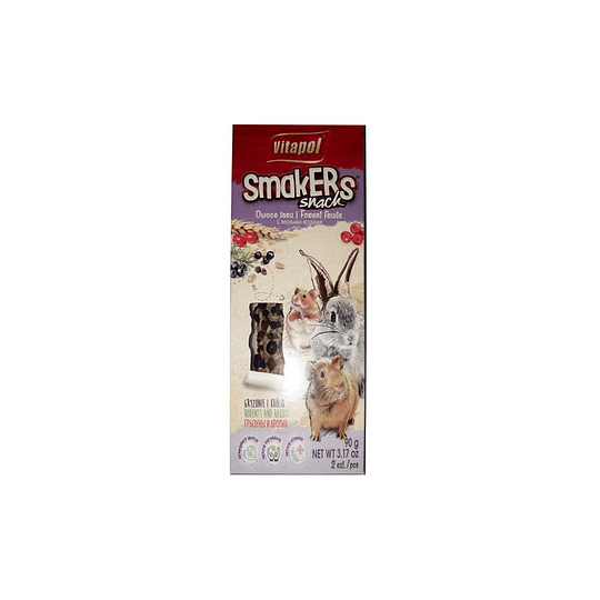 Snack Smakers Stick Frutos del Bosque 90g