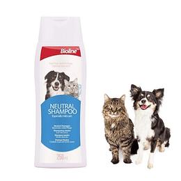 Shampoo Neutro Perro y Gato Bioline 250ml