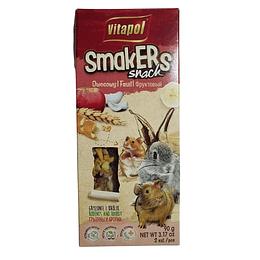 Snack Smakers Stick Frutas Varias 90g Roedores y Conejos