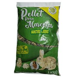 Pellet Alfalfa Hamster y Jerbos 1 Kg