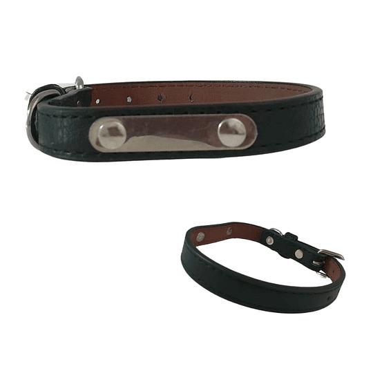 Collar Perro Eco-Cuero Talla S