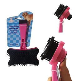 Cepillo Fino con Removedor de Pelos