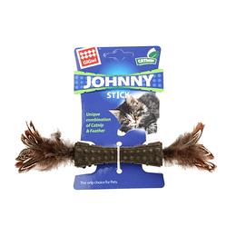 Johnny Stick Doble Pluma Natural Cafe