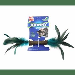 Johnny Stick Doble Pluma Natural