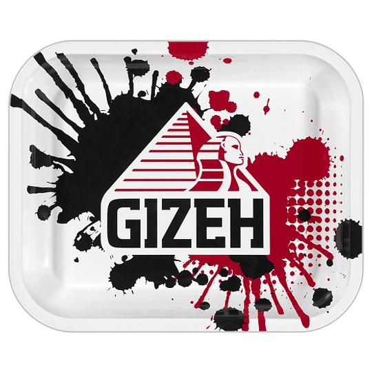 Bandeja Gizeh metálica grande