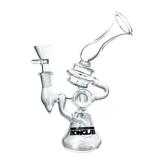 BongLab Bong K334 Claxon Clear 21cm