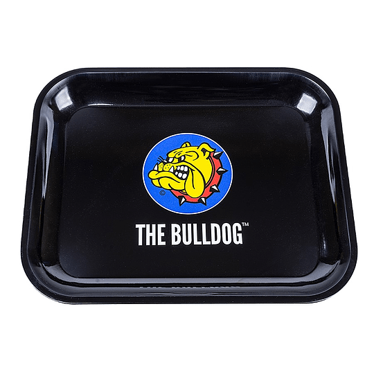 Bandeja Bulldog metálica logo - Grande