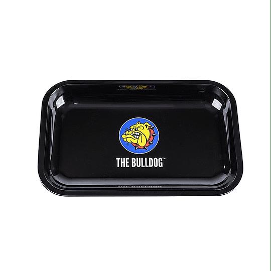 Bandeja Bulldog metálica logo - Mediana