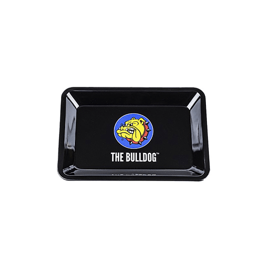 Bandeja Bulldog metálica logo - Mini