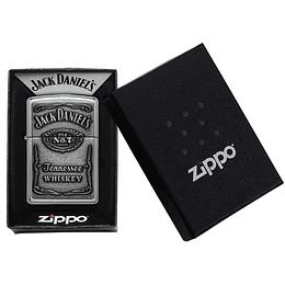 Encendedor Jack Daniel's Plateado Zippo