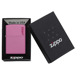 Encendedor Classic Pink Matte Zippo
