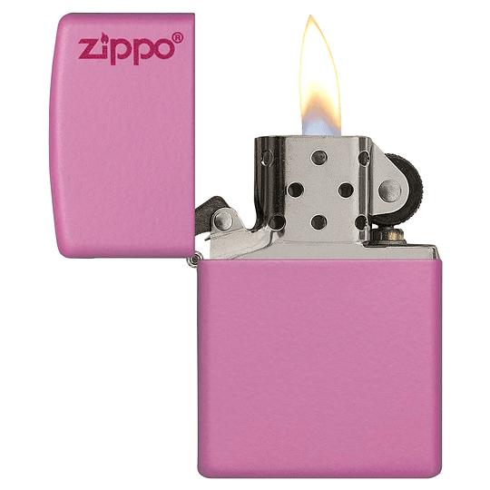 Encendedor Classic Pink Matte Zippo