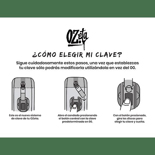 Ozeta 4x4 con clave - Anti-olor