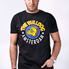 Polera The Bulldog Amsterdam - Negra