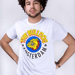 Polera The Bulldog Amsterdam - Blanca