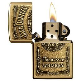 Encendedor Jack Daniel's Dorado Zippo