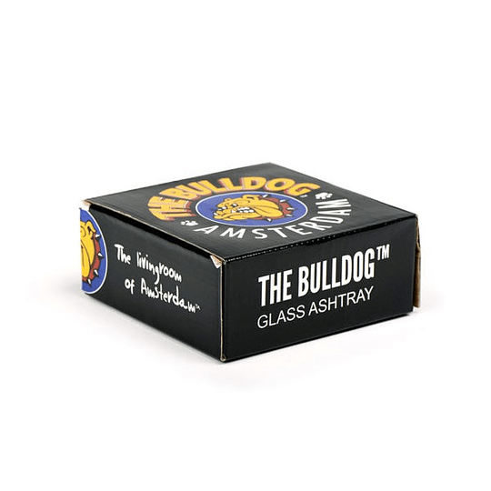 Cenicero Bulldog de Vidrio - Color V1