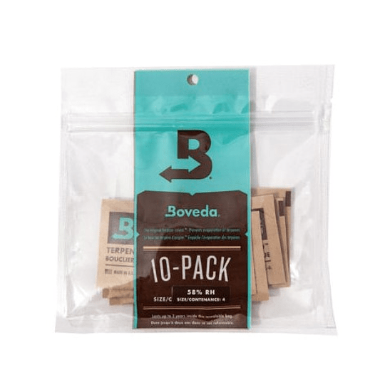 Boveda Size 4 58%/62% - 10 Pack